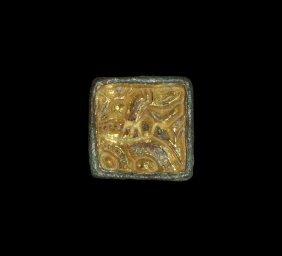 Anglo-saxon Gilt Beast Mount