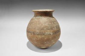 Indus Valley Painted Storage Jar