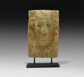 Western Asiatic South Arabian Figural Stele