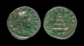 Ancient Roman Imperial Coins - Divus Antoninus Pius