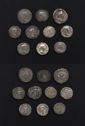 Ancient Roman Imperial Coins - Mixed Denarii And