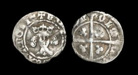 English Medieval Coins - Henry Iv - Durham - Penny