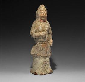Chinese Ceramic Soldier Figurine