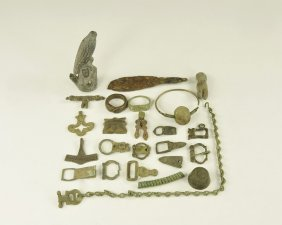 Medieval To Post Medieval Items Group