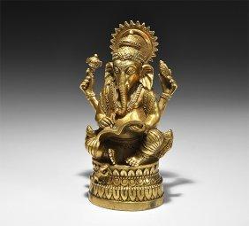 Indian Ganesh Figurine