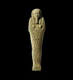 Egyptian Large Shabti For Ipethemetes