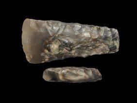 Stone Age Scandinavian Polished Flint Axehead And