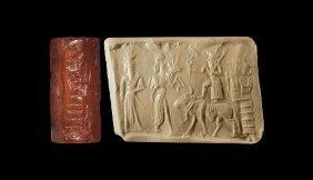 Western Asiatic Assyrian Cylinder Seal