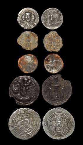 Ancient Greek Coins - Greek , Parthian And Sassanian