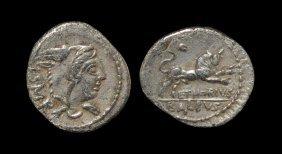 Ancient Roman Republic Coins - L. Thorius Balbus - Bull