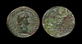 Ancient Roman Imperial Coins - Domitian - Jupiter