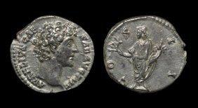 Ancient Roman Imperial Coins - Marcus Aurelius (under