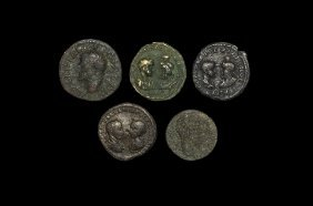 Ancient Roman Imperial Coins - Provincial Bronzes Group
