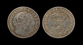 World Coins - France - Louis Xiii - 1643 - 'overstruck