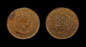 World Coins - Malaya & British Borneo - Elizabeth Ii -