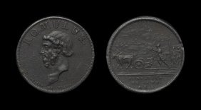 English Commemorative Medals - Romulus By Dassier -