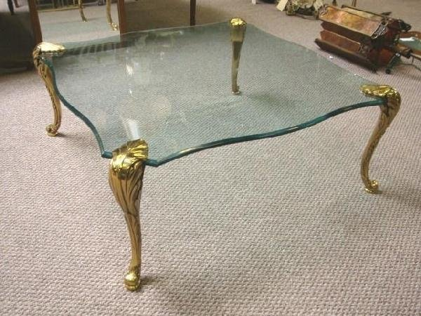 brass coffee table legs 1
