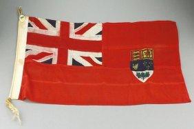 Vintage John Leckie Canadian Red Ensign Flag