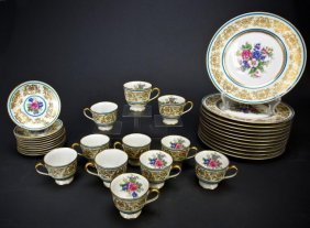33 Pieces Charles Ahrenfeldt Limoges Dinner Ware