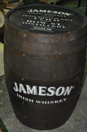 Jameson Whiskey Barrel Lot 210