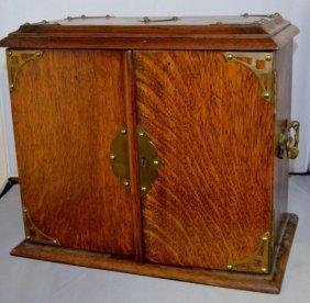 Antique English Smokers Box