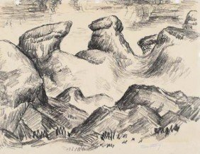 Tabor Utley Charcoal Landscape
