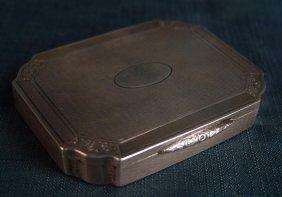 Antique Silver Snuff Box,