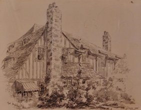 Syd J. Browne (1907-1991), Graphite,