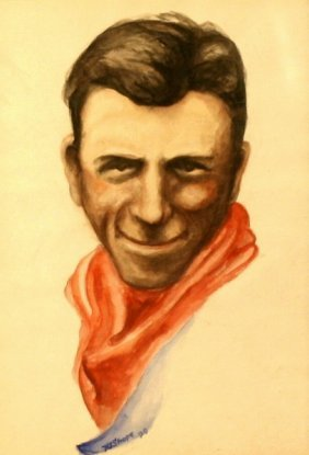 """Irvin """"shorty"""" Shope (1900-1975), Watercolor,"""