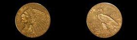 1925-D U. S. 2 1/2 Dollar Gold Coin