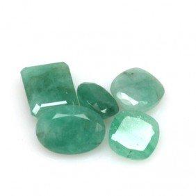 Natural 19.15ctw Emerald Mix (5) Stone