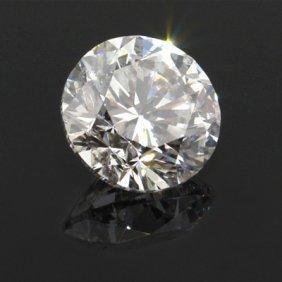Diamond EGL Cert. ID: 3126348229 Round 2.01 Ctw D, SI2
