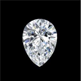 Diamond EGL Cert. ID:3110084522 Pear 0.73 Ctw D, Si1