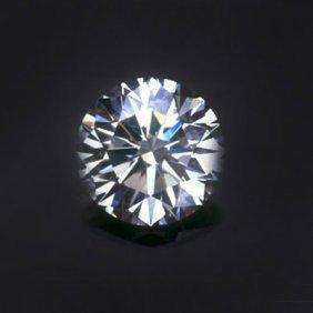 Diamond EGL Cert. ID: 302234522 Round 0.90 Ctw H, SI2
