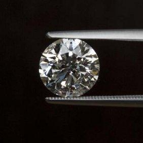 Diamond EGL Certfied Round 0.95 Ctw F, SI2