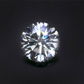 Diamond EGL Certified Round 1.34 Ctw H, VVS2