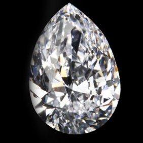 Diamond EGL Certified Pear 1.20 Ctw F, SI1