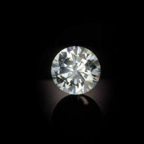 Diamond GIA Cert.ID:213770053 Round 1.00 Ctw H, SI2