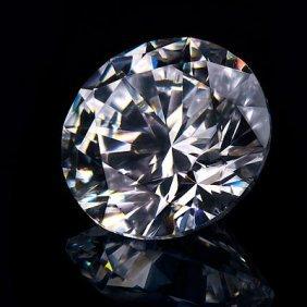 Diamond GIA Cert.ID: 1136623174 Round 0.50 Ctw E, VVS1