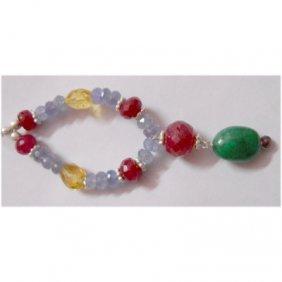 Natural 48.35ct Tanzanite/Ruby/Emerald/Semi Precious Pe