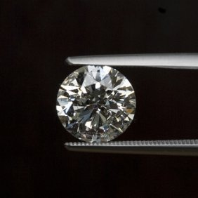 Diamond EGL Cert.  Round 2.20 Ctw D, SI3