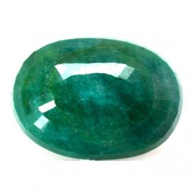 Natural 178.35ctw Emerald Oval Stone