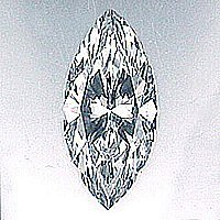 EGL CERT 0.97 CTW MARQUISE DIAMOND H/VS1