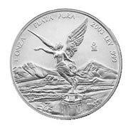 Mexican Silver Libertad 1 Ounce 2001