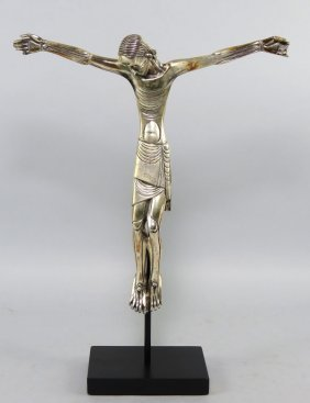 20TH C. BRONZE, CHRISTO MORTO