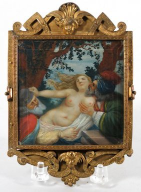 18TH C. FRENCH PAINTING ON IVORY