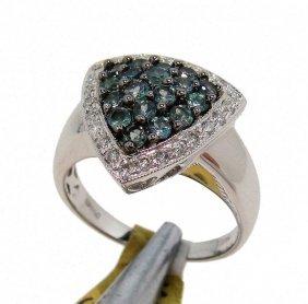 0.99ct Alexandrite & 0.27ct Diamond 14KT Gold Ring