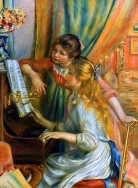 Renoir Girls At The Piano Gicl�e.