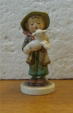 Goebel Hummel The Lost Sheep Handpainted China Boy