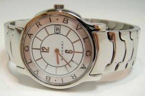 Original BULGARI Ladies Stainless Steel Wristwatch